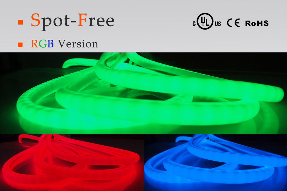 RGB Spot-Free LED Strips